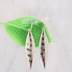 Jewelry - ❤ 4 for $25 ❤ #1261 Silver Native Feather Earrings
